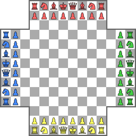 Four Player Chess Variants Green Chess